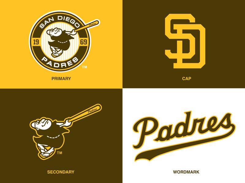 San Diego Padres Logo Concept/Tweak by Nino Zizzo on Dribbble.