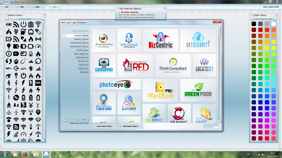 Download Logo Design Software Software: AAA Logo Design.