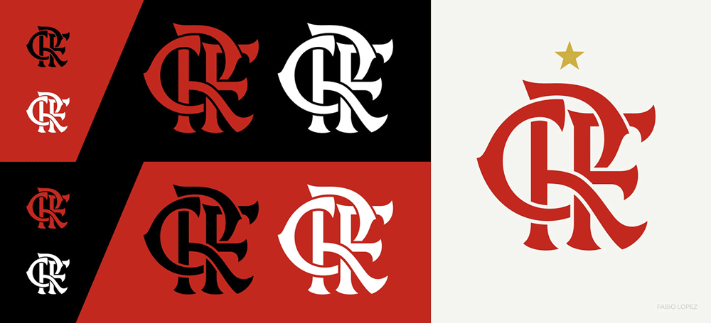 Brand New: New Logo for Clube de Regatas do Flamengo by.