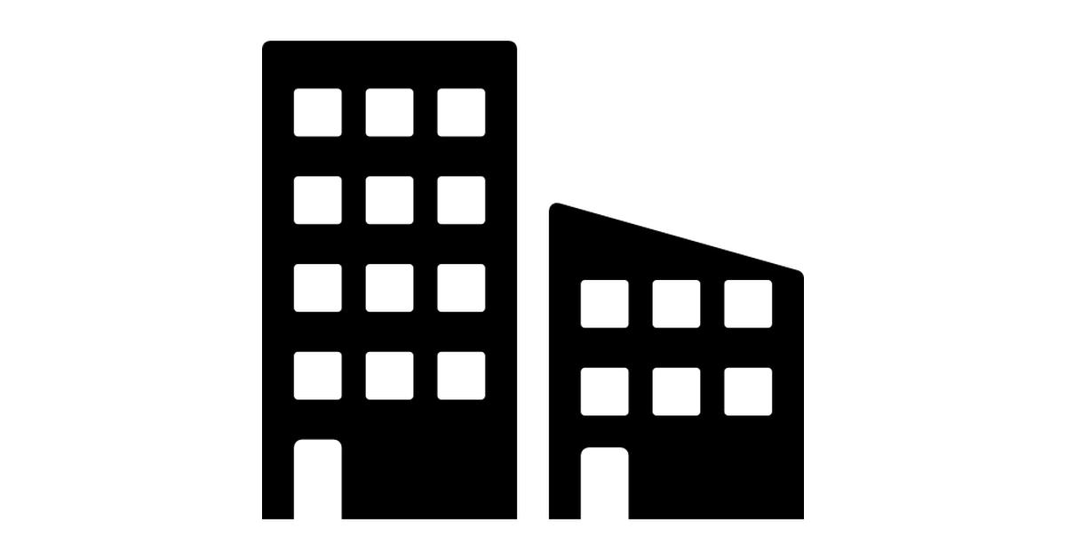 Urban buildings.