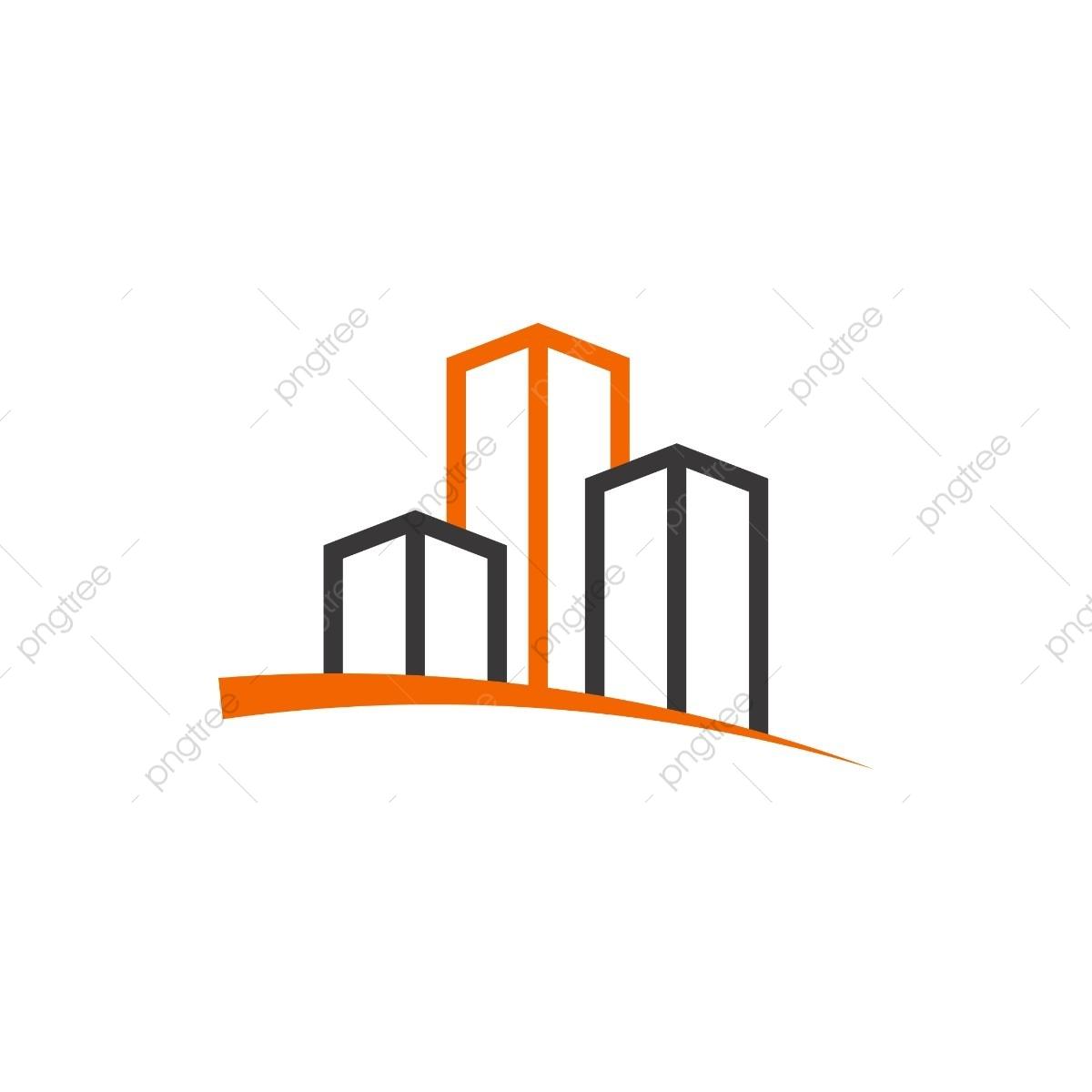 Simple Y Limpia La Linea De Arte Edificio Vector, Corporate.