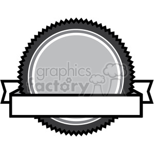 crest logo template 004 clipart. Royalty.
