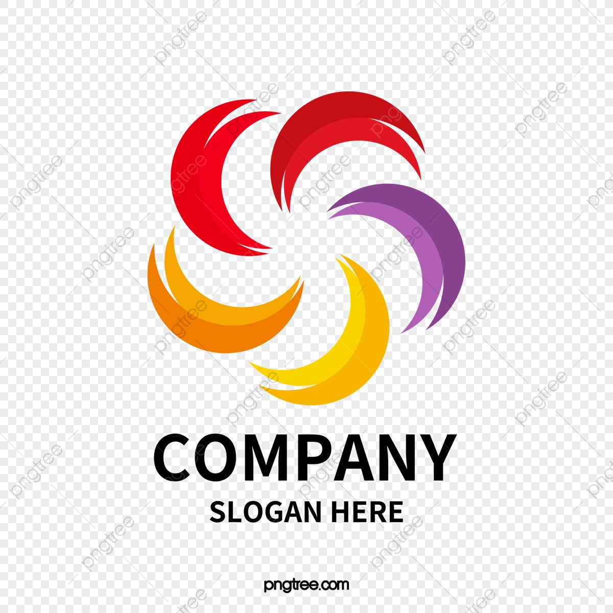 Creativo Logotipo De La Empresa, Logotipo De La Empresa.