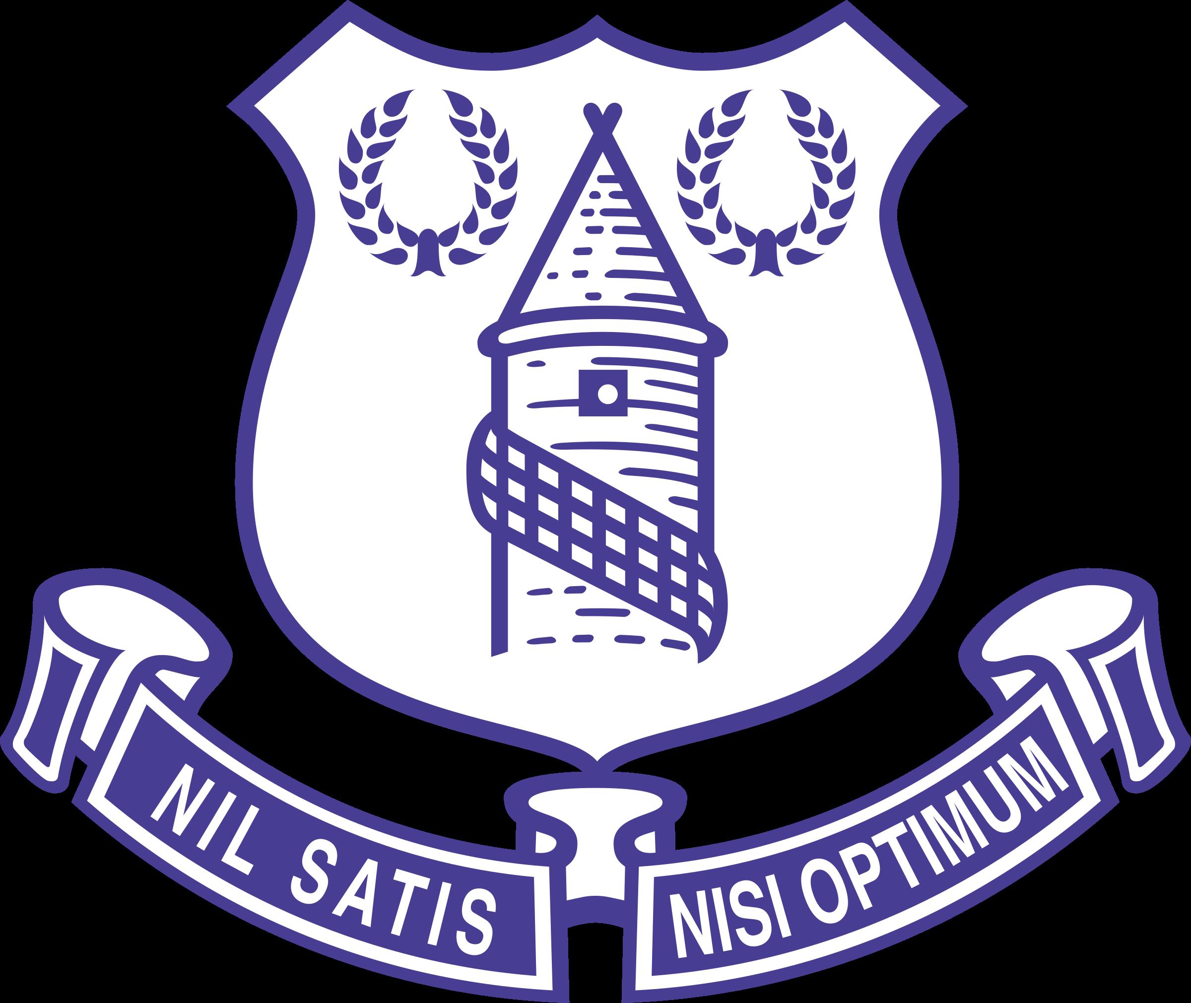 Everton Logo PNG Transparent & SVG Vector.