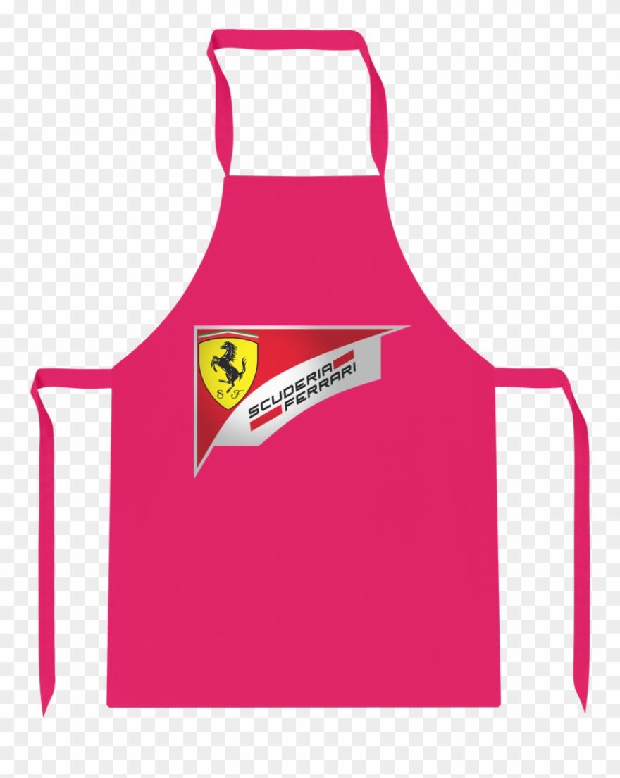 Ferrari F1 2018 Logo premium Jersey Apron.