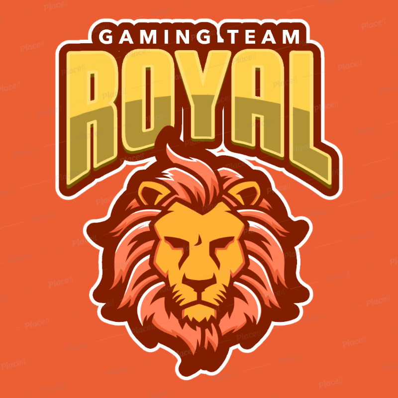 Bold Logo Generator Featuring a Lion Face Clipart 484i.