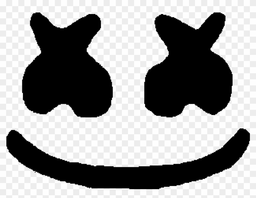 Marshmello Face Mask , Png Download.