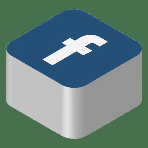 Facebook icon logo.