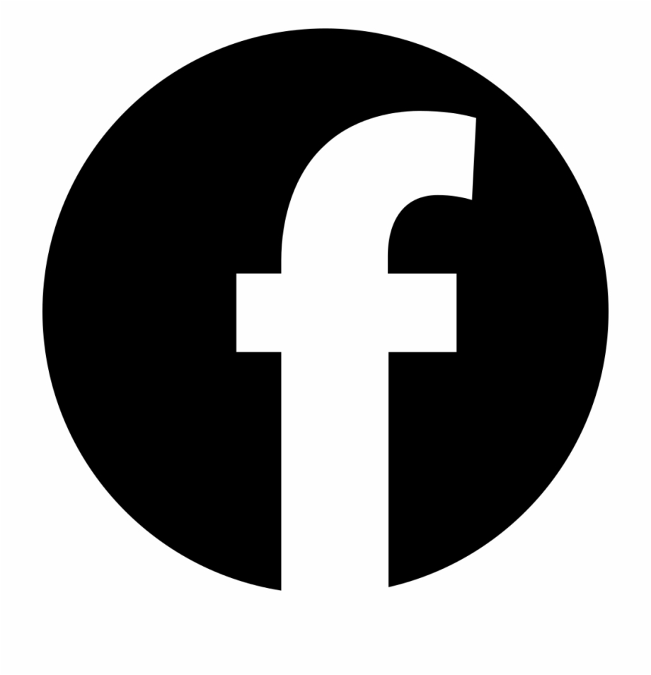 Facebook Logo In Circular Shape Comments Facebook Vector.