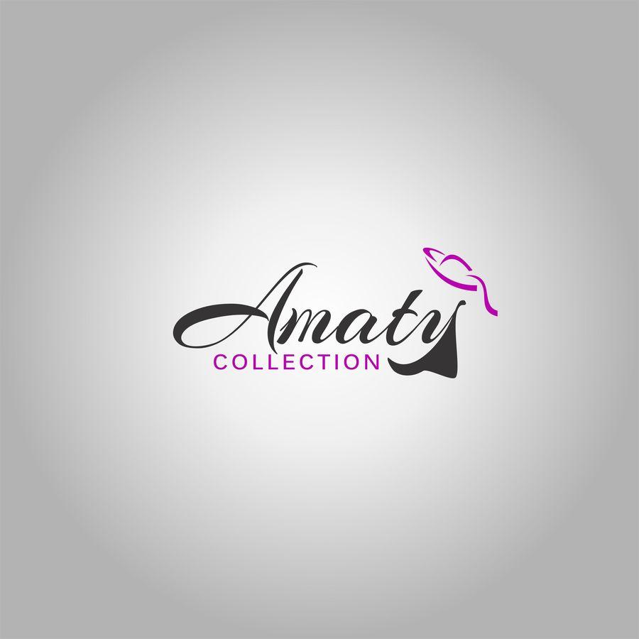 Entry #43 by manhaj for Amaty Collection Logo (Fashion.