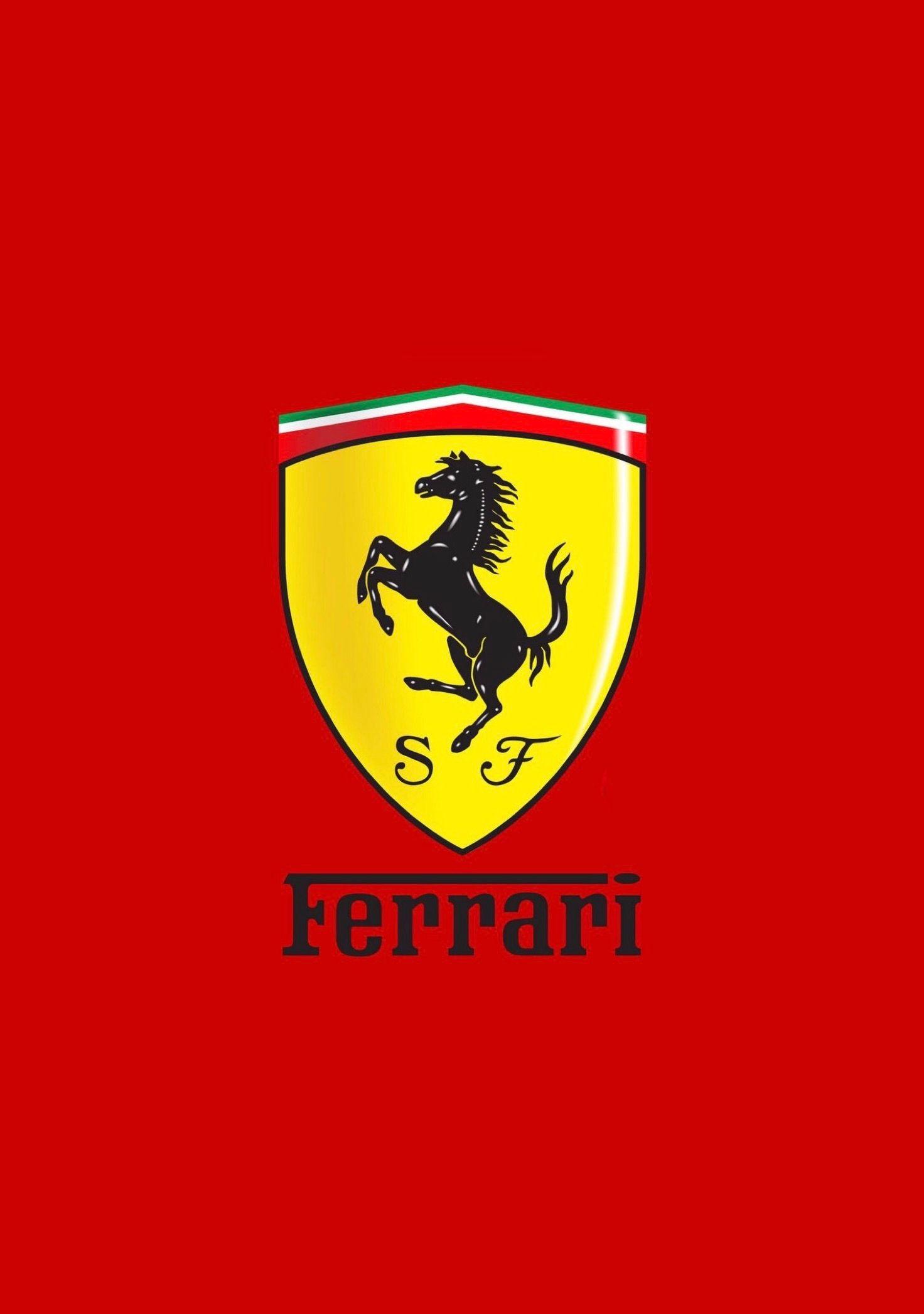 Ferrari Logo Wallpaper.