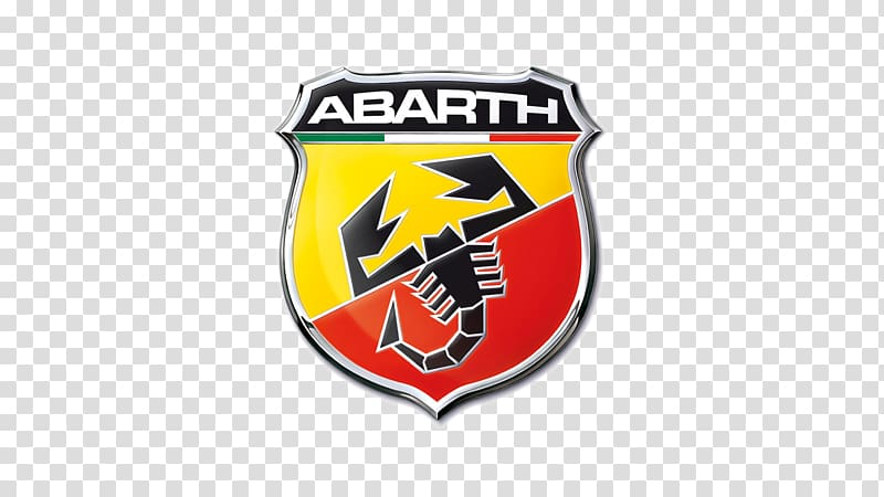 Abarth Fiat 500 Fiat Punto Car, cars logo brands transparent.