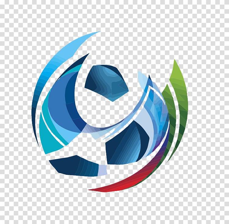 Blue and green ball team logo, 2018 FIFA World Cup 2022 FIFA.