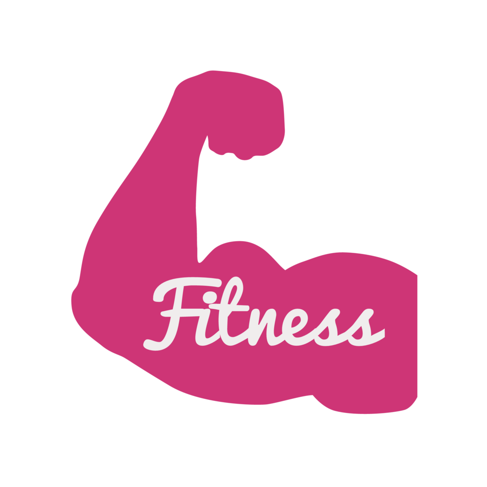 Fitness clipart pink, Fitness pink Transparent FREE for.