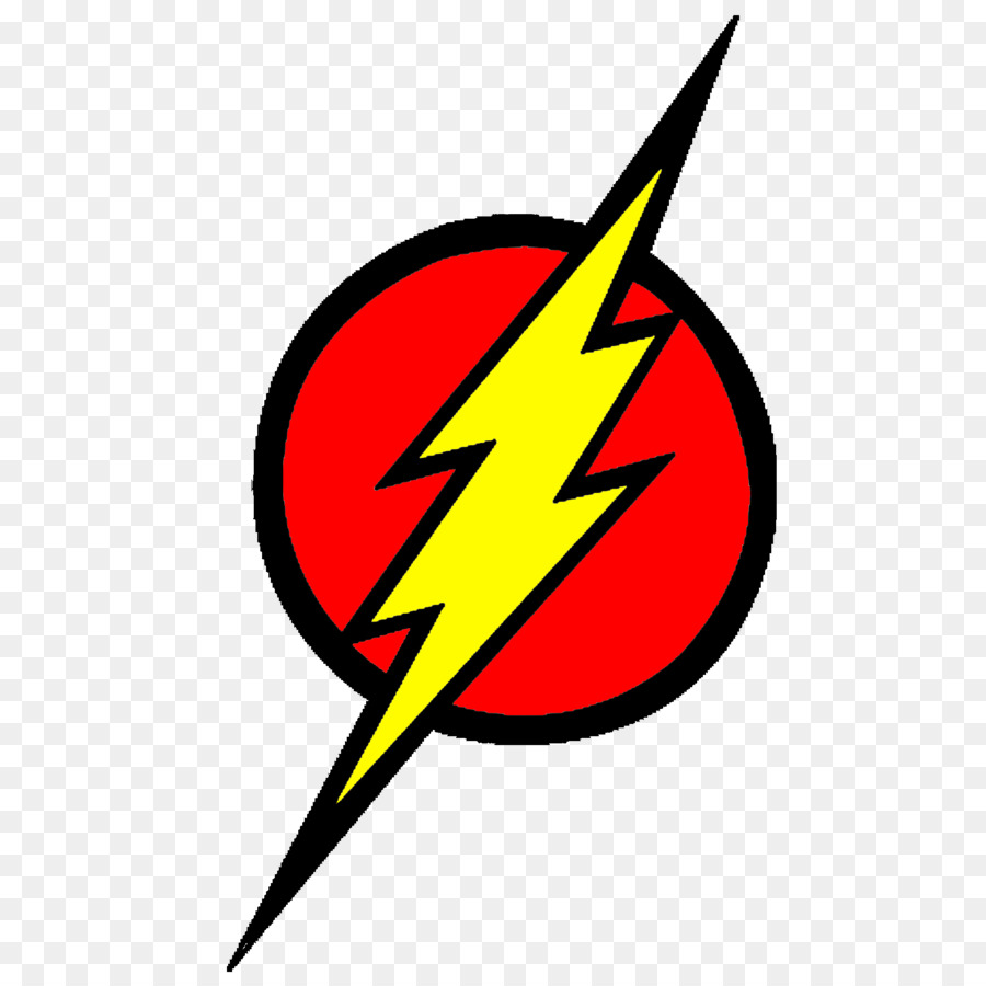 The Flash Logo png download.