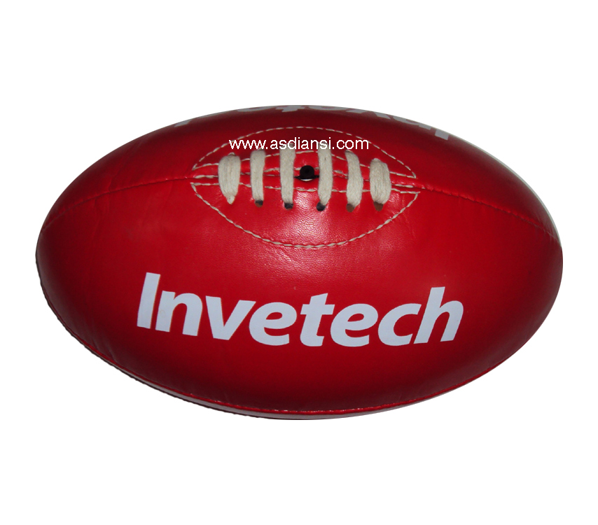 Afl Footballs Custom Logo Australian Rules Football Genuine Leather Afl  Ball.
