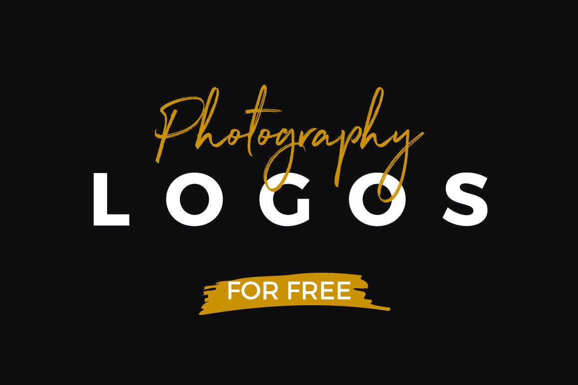 10 Free Photography Logo Templates.