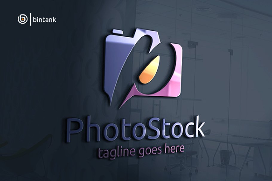 P Letter Photography Logo.