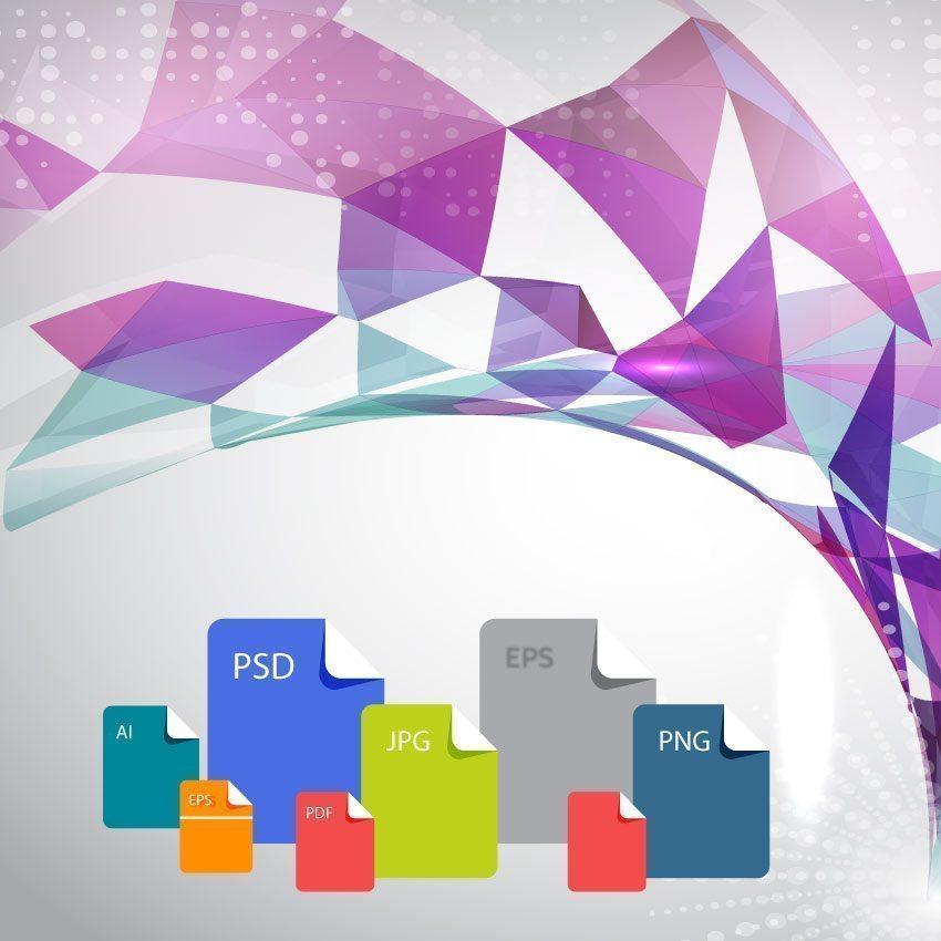 Popular logo file formats.
