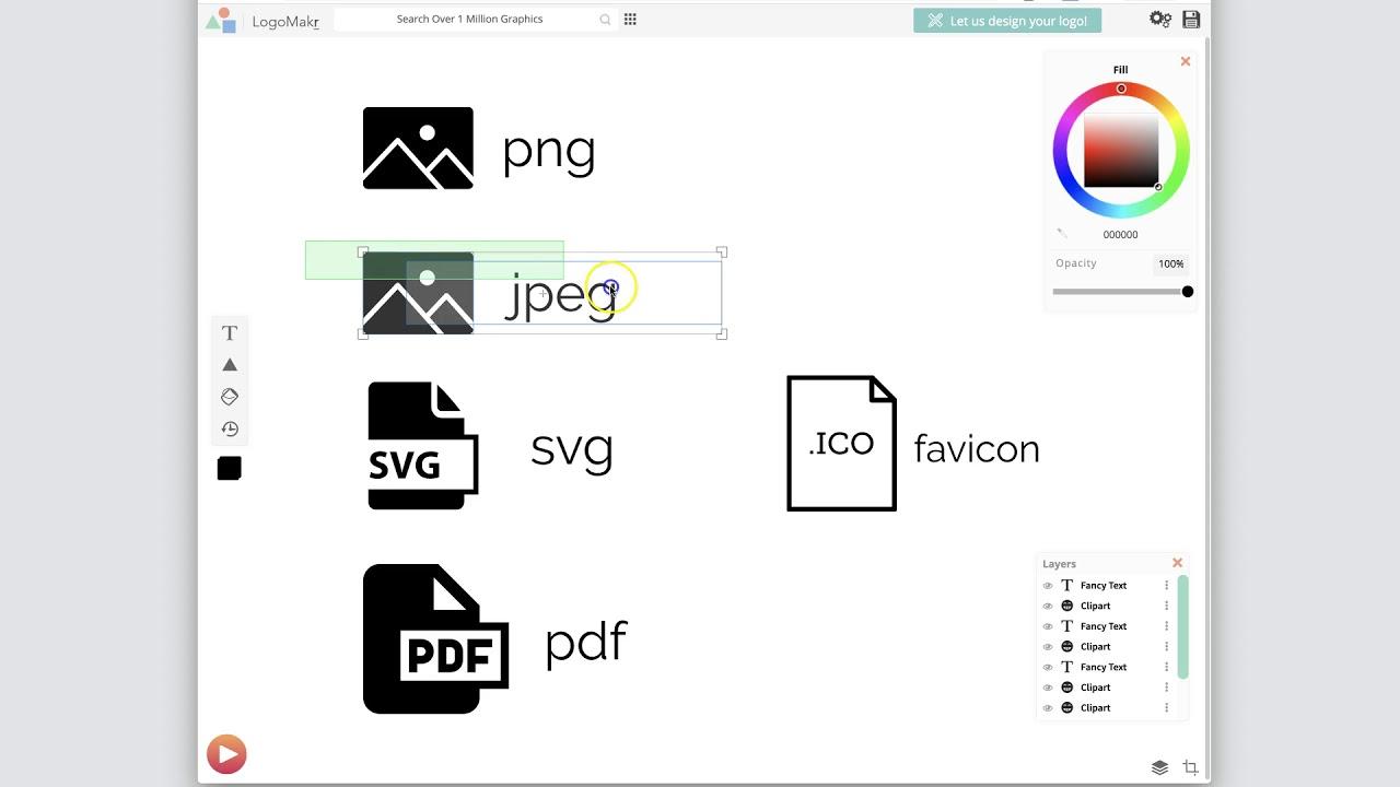 Logo File formats.