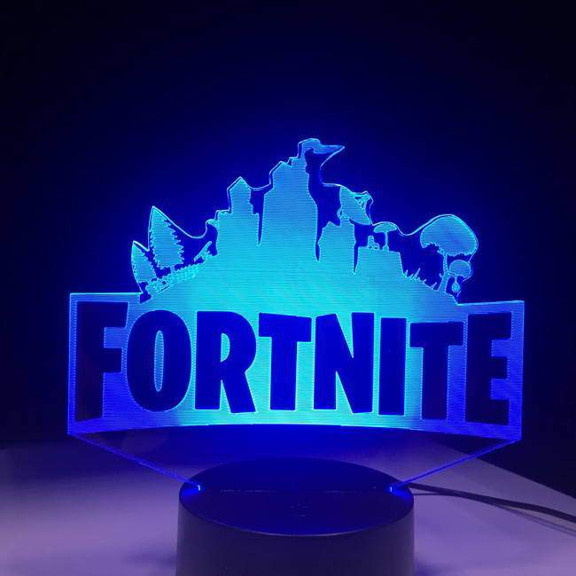 Fortnite Logo 3D Illusion Lamp.