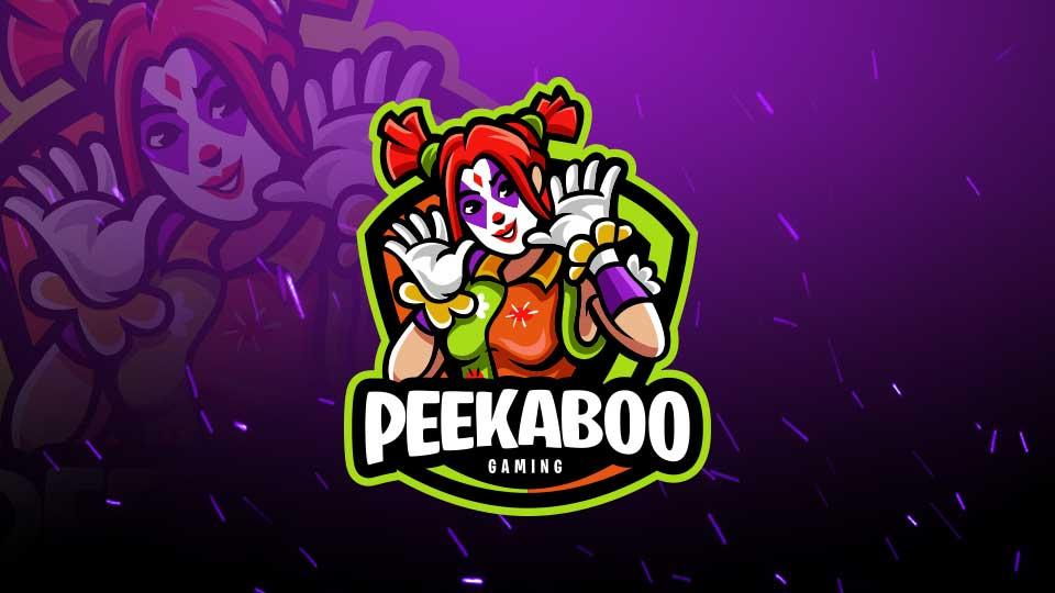 Premade Fortnite Logo Peekaboo.
