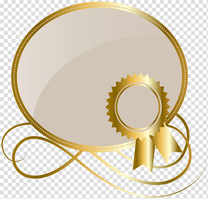 Gold logo frame, Credit Service Payment Invoice Transaction.