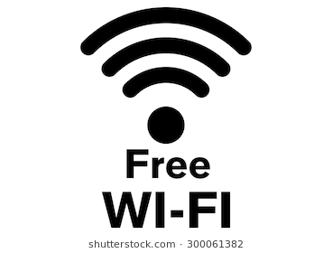 Vector Wifi Icon On White Background. Fr #63427.