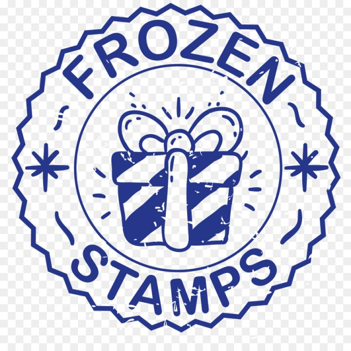 Free Download PNG Clipart Clipart Frozen Stamps Logo Frozen.