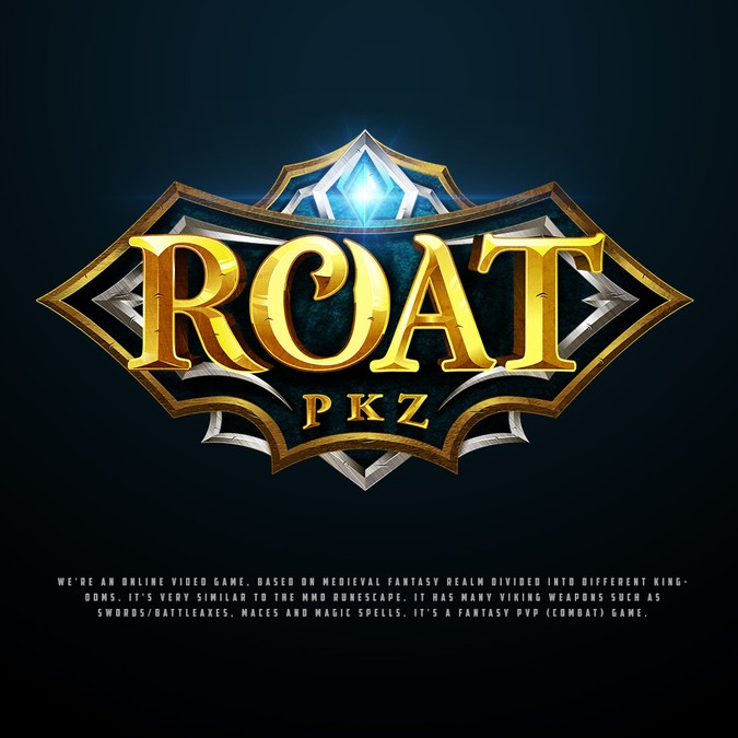 Create a great logo for a fantasy online MMO game!.