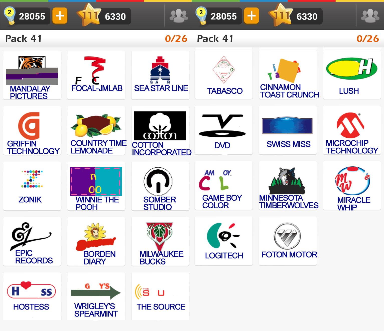 Game on Logos.