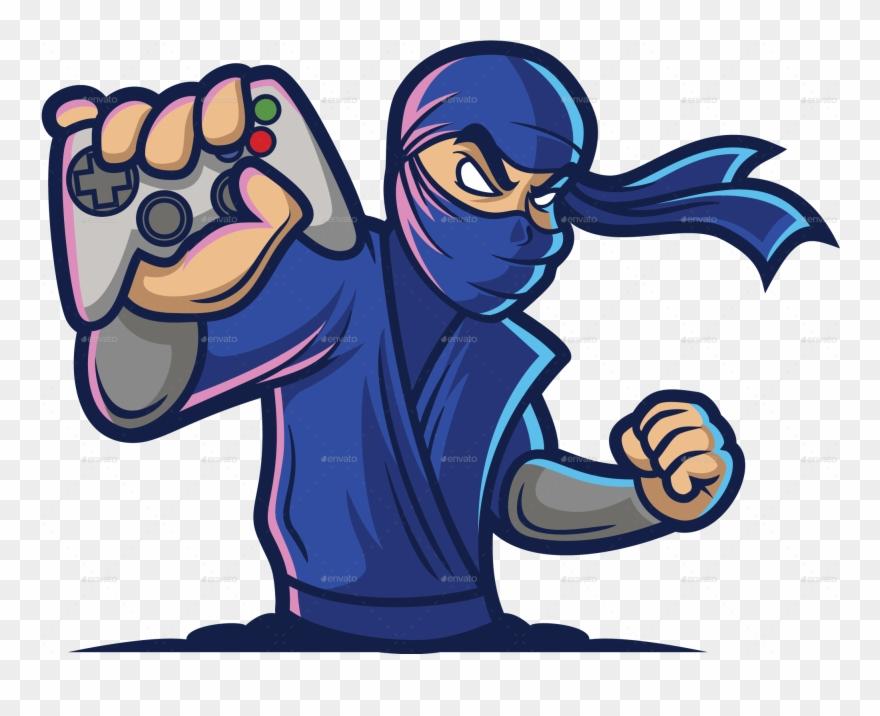 Png/gaming Ninja Logo Color 01.