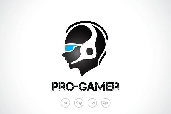 Pro Gamer Logo Template.
