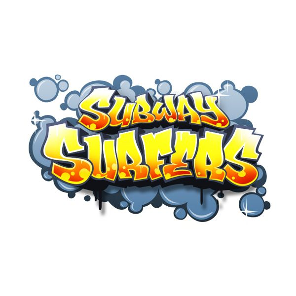 Logo for Subway Surfers.
