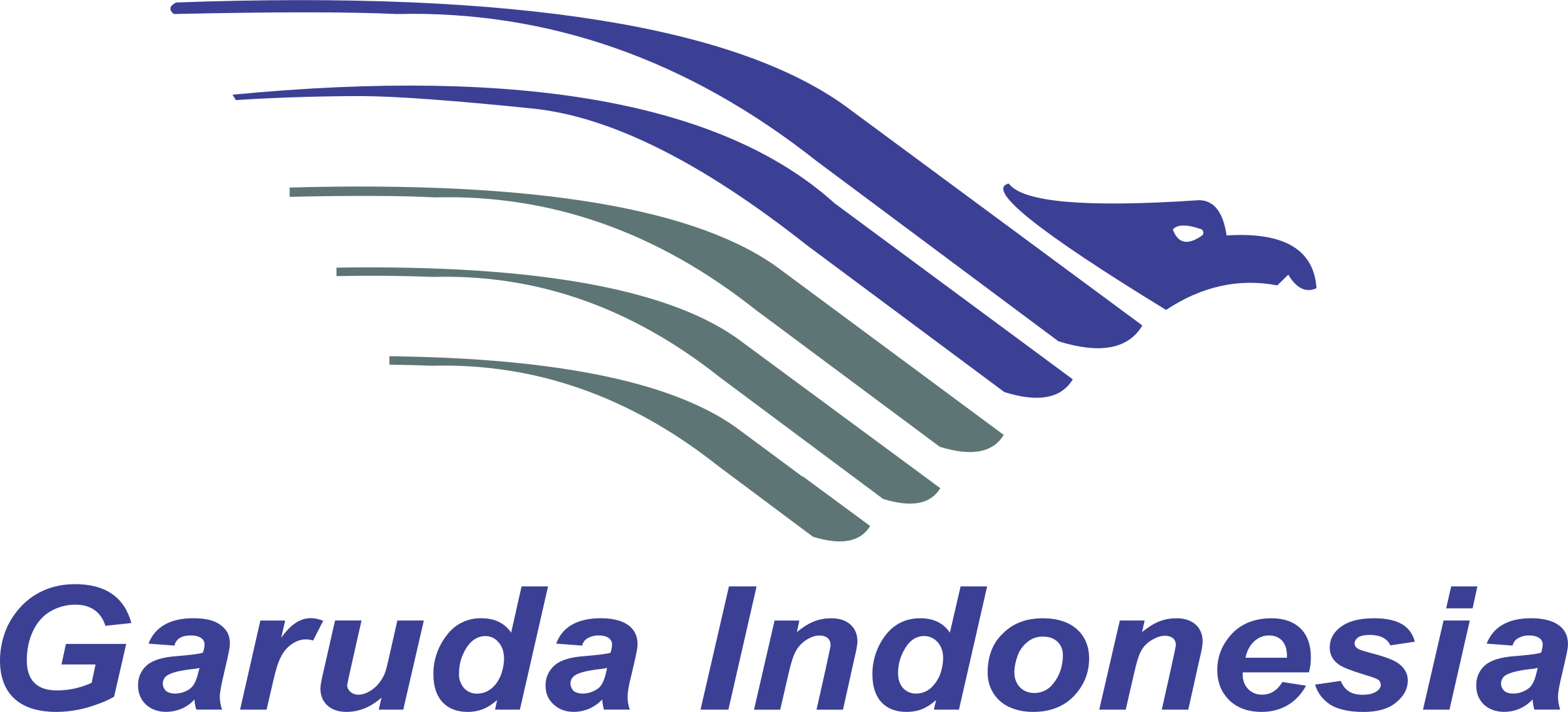 Garuda Indonesia Logo PNG Transparent & SVG Vector.