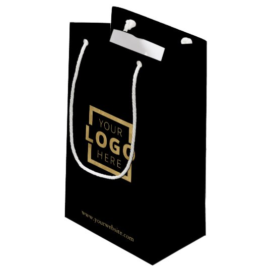 Custom Company Logo Business Promotional Gift Small Gift Bag.