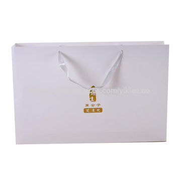 China Customized Logo Printing Paper Gift Bag on Global Sources.