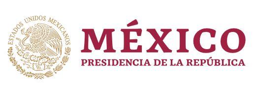 Logotipo del Gobierno de México.