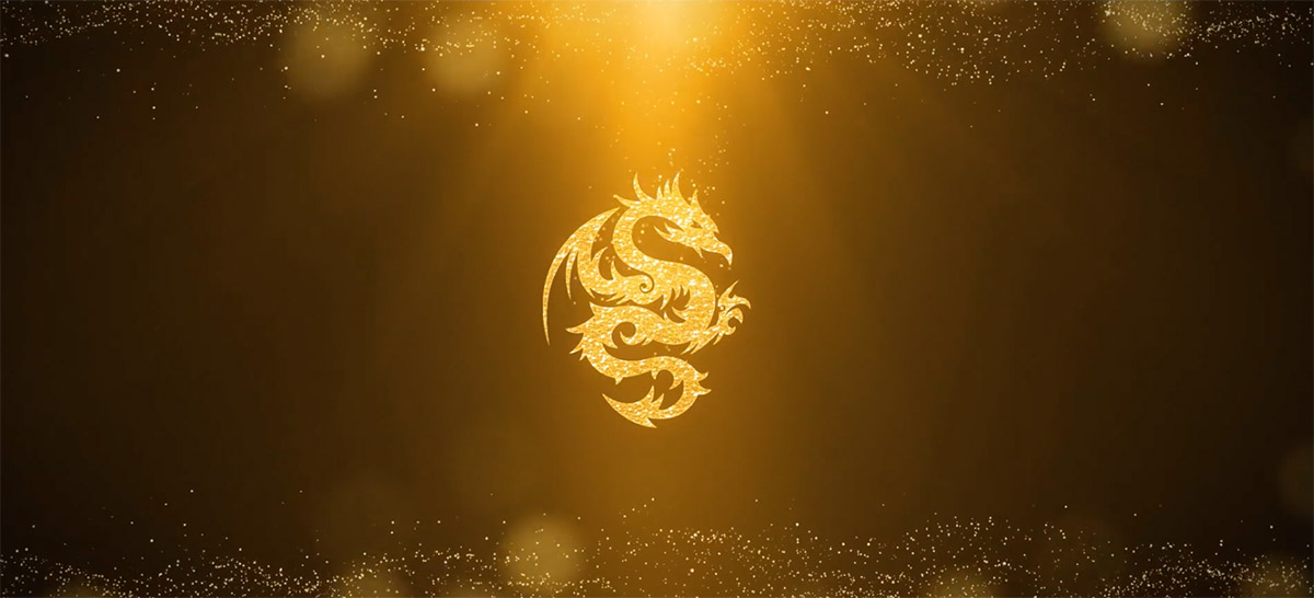 Gold Logo Reveal (After Effects Template).