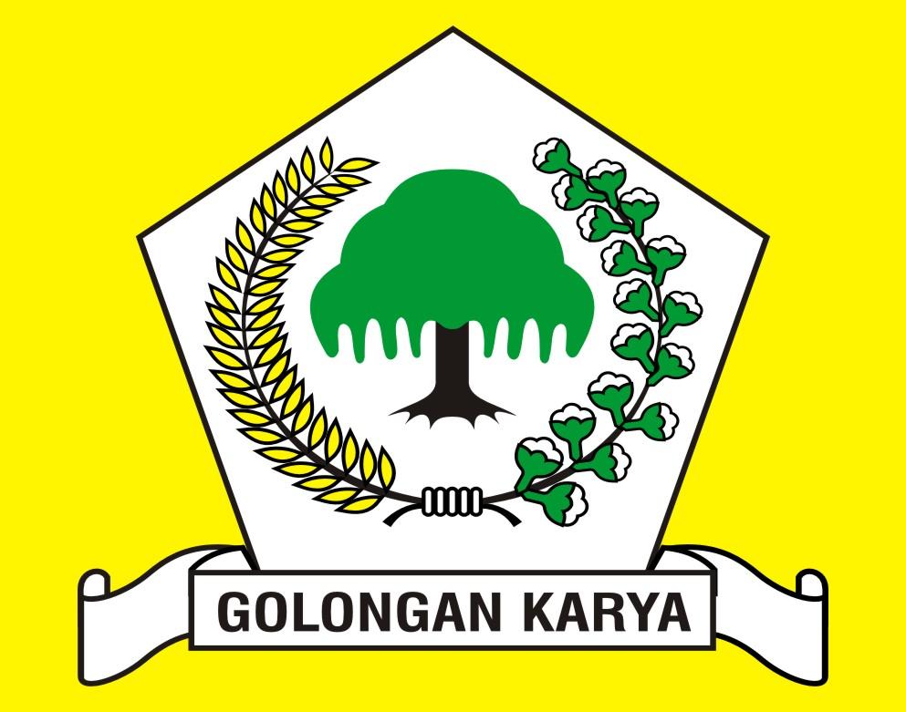 Logo partai Golkar vector.