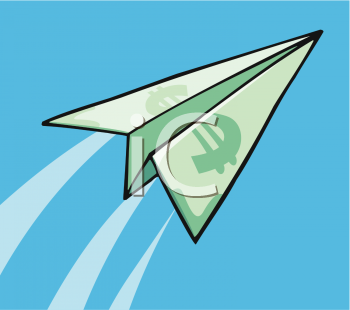 Paper Airplane Clipart Free.