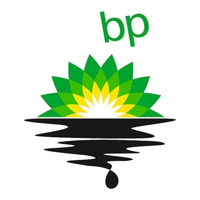 Greenpeace announces a new BP logo design and asks us to.
