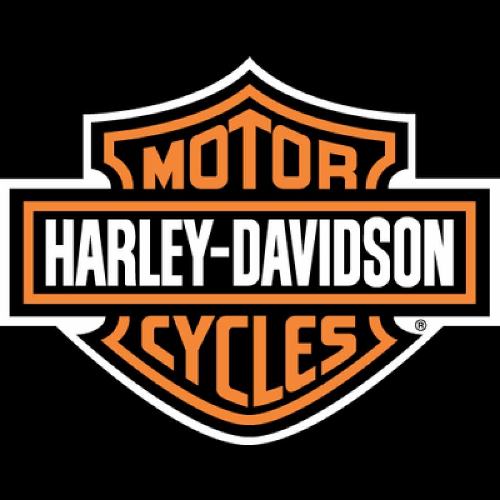 Harley davidson logo classic transparent stick png.