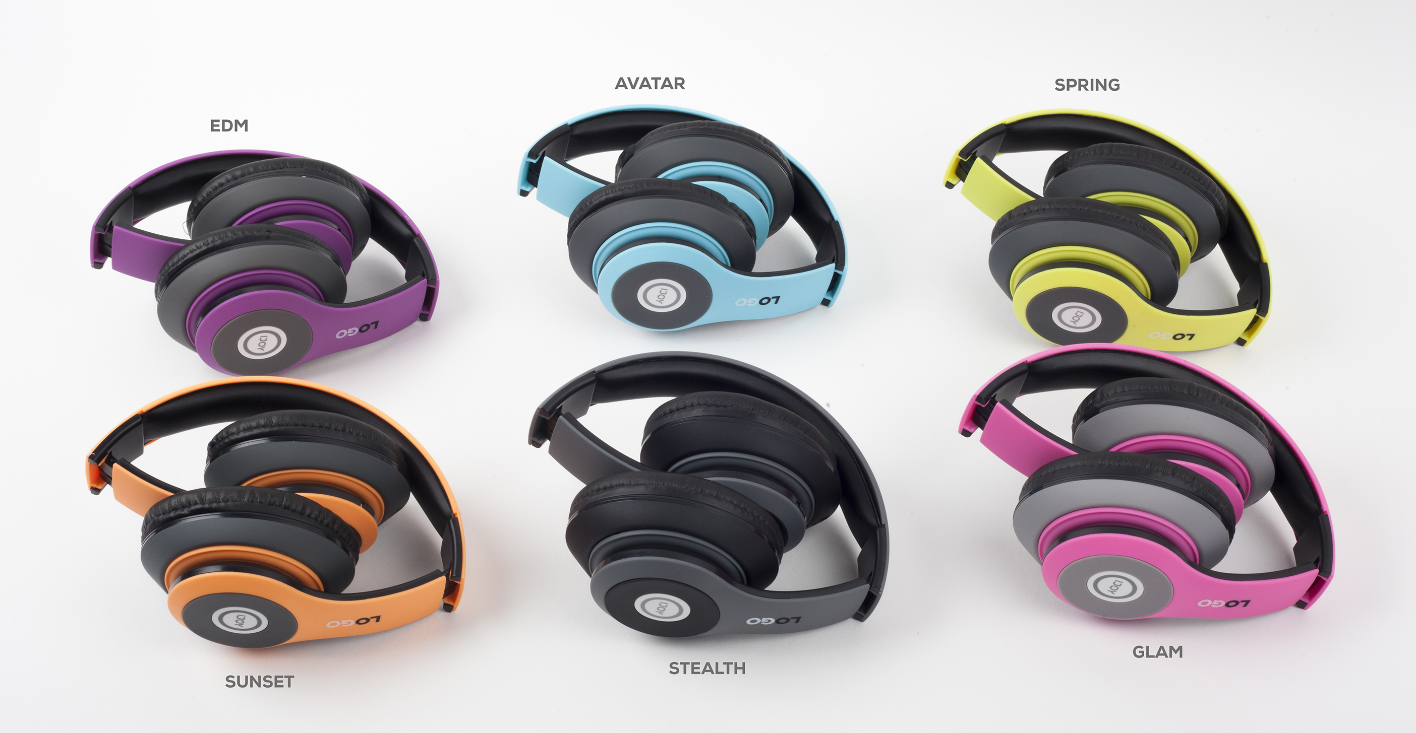 Logo Headphones.