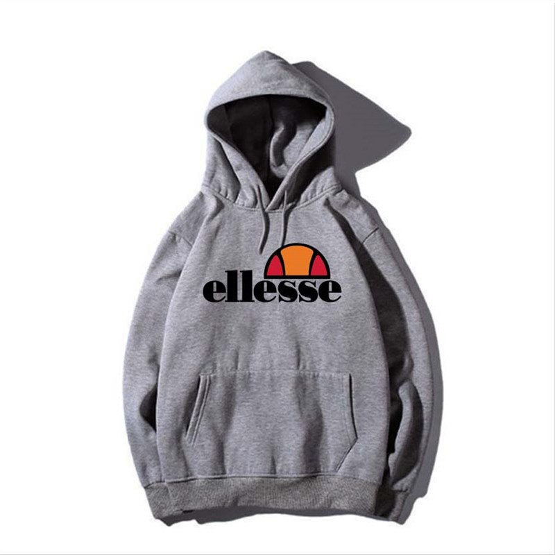New fashion brand Logo hoodies girl and boy Vintage ELLESSE Hoodie  Sweatshirt Men/Women Leisure Tracksuit Sweatshirt.