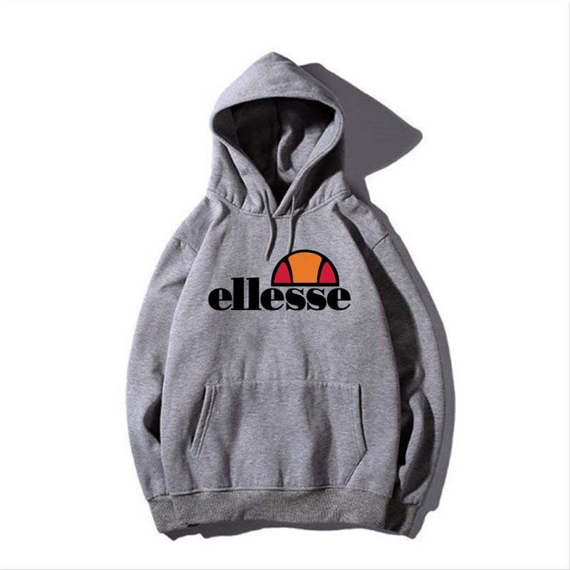 New fashion brand Logo hoodies girl and boy Vintage ELLESSE Hoodie  Sweatshirt Men/Women Leisure Tracksuit Sweatshirt.