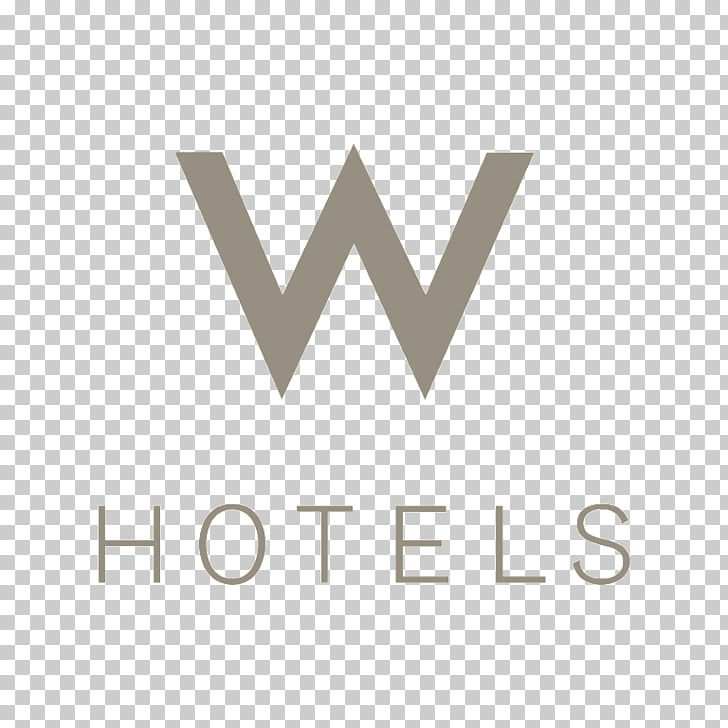 W Hotels Starwood Marriott International Logo, hotel PNG.