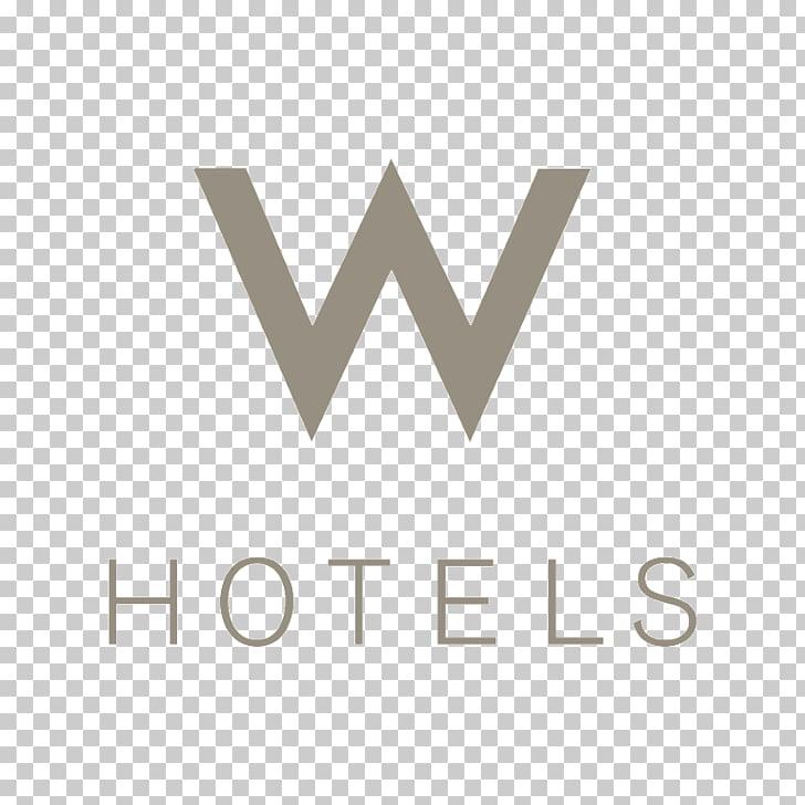 W Hotels Starwood Marriott International Logo, hotel PNG.