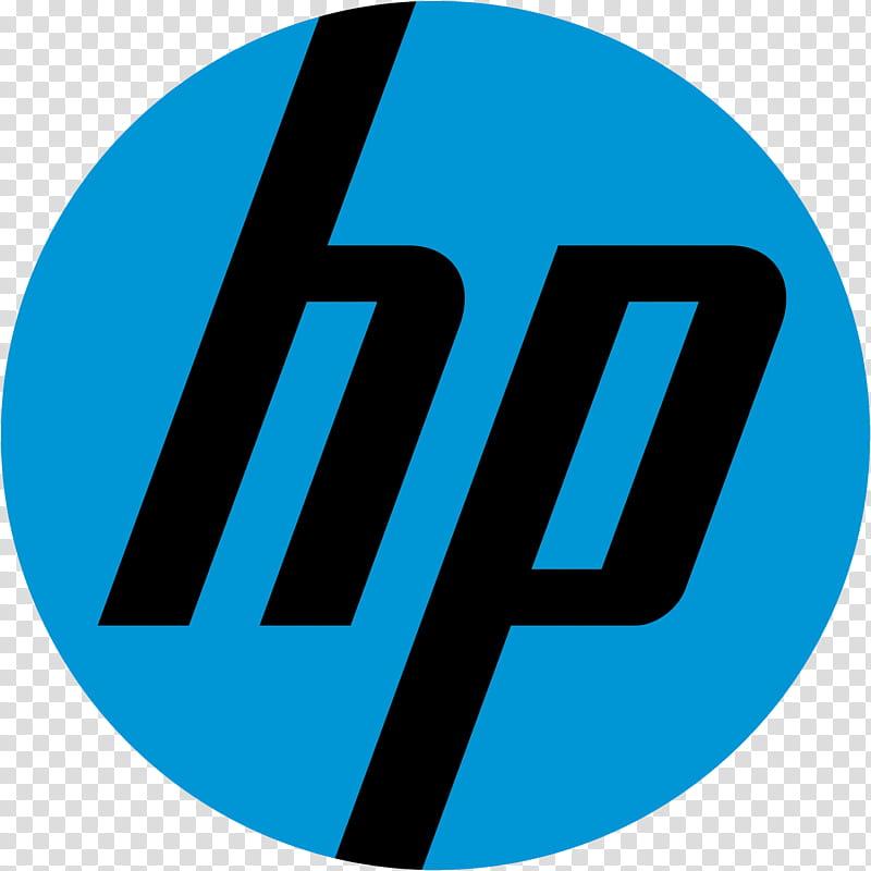 HP Logo transparent background PNG clipart.