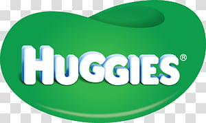 Elephant, Huggies, Logo, Diaper, Haggis, Green, Text.